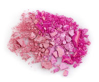Pink eye shadows Stock Image