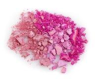 Pink eye shadows Stock Image