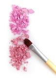 Pink eye shadows Stock Photography