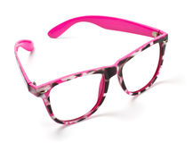 Pink eyeglasses Royalty Free Stock Photography
