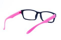 Pink Eyeglasses Isolated Stock Photography
