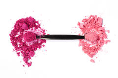 Pink eyeshadow Stock Photography
