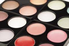 Pink eyeshadow palette Royalty Free Stock Image