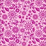 pink för 3 bakgrundsblommor Vektor Illustrationer