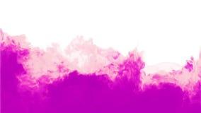 pink för bakgrundsfärgpulver FÄRGPULVER I VATTENSERIE 3d framför voxeldiagram På vitbakgrund Se annan version version 4 lager videofilmer