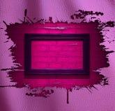 pink för bakgrundsglamourläder royaltyfri illustrationer