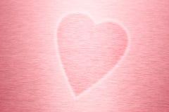 pink för bakgrundshjärtaförälskelse Arkivbilder