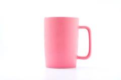 pink för kaffekopp Arkivfoto