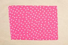 Pink fabric Stock Photos
