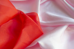 Pink fabric, backdrop Royalty Free Stock Photos