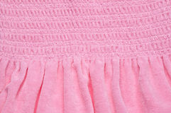 Pink Fabric Background Royalty Free Stock Photo