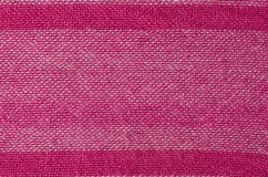 Pink fabric background Stock Images