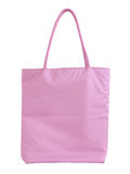 Pink fabric bag Stock Image