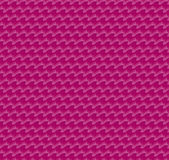 Pink fabric folds fashionable pattern. Vector illustration of ruffles royalty free illustration