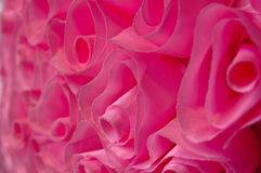 Pink Fabric Roses Royalty Free Stock Image
