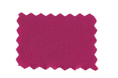 Pink fabric swatch Royalty Free Stock Image
