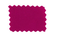Pink fabric swatch Royalty Free Stock Photo