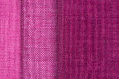 Pink fabric texture Stock Photography