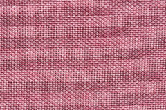 Pink fabric texture Stock Photos