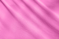 Pink fabric texture background Stock Photography