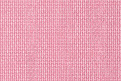 Pink fabric texture Royalty Free Stock Images