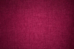 Pink fabric texture. Closeup detail of pink fabric texture background Stock Image