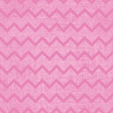 Pink fabric textured chevron stripes seamless pattern background Royalty Free Stock Photos