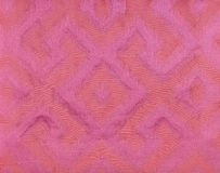 Pink fabric wallpaper Stock Photo