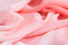 Pink fabrics Royalty Free Stock Photos