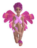 Pink Fairy Stock Photography