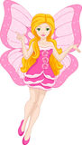 Pink Fairy Royalty Free Stock Photo