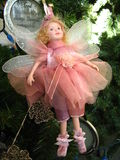 Pink fairy oranament Royalty Free Stock Photography