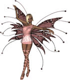 Pink Fairy Tiptoe Royalty Free Stock Images