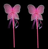 Pink fairy wands. For getting all your wishes Royalty Free Stock Image