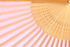 Pink fan Stock Photography