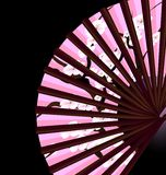 Pink fan Stock Photos
