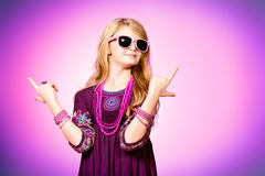 Pink fashion Royalty Free Stock Image