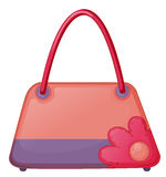 A pink fashion bag Stock Image