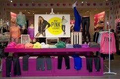 Pink fashion store Stock Photo