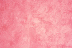 Pink Faux Painted wall royalty free stock photography