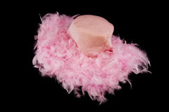 Pink Feather Hat Stock Photos