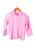 Pink female blouse Royalty Free Stock Photo