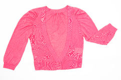Pink Female Sweater Stock Images