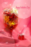Pink festive background Stock Images
