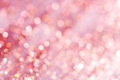 Pink festive elegant abstract background soft lights Stock Images