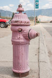 Pink Fire Hydrant Royalty Free Stock Photo
