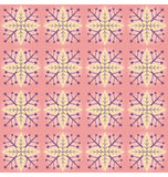 Pink Flake Pattern Royalty Free Stock Photos
