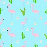 pink flamingo. stock illustration