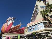 Pink Flamingo Hotel and Resort Royalty Free Stock Image