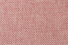 Pink flax cotton fabric texture Royalty Free Stock Photography